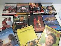 Assorted DVD movies,$2.50 each Toronto, M3B 1J7