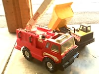 Tonka Yellow Dumptruck and Red Fire Truck San Leandro, 94578