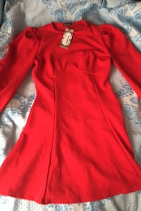 New Red Dress Fit and Flare Toronto, M3L 2M5
