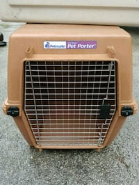 brown and black Pet Taxi pet carrier Signal Mountain, 37377