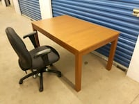 Table.. Office Chair/ delievery available