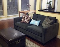 gray fabric 2-seat sofa Maple Ridge, V4R 2W3