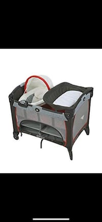 Graco Pack 'n Play Playard w/ Newborn Napper Station DLX, Solar Ashburn, 20147