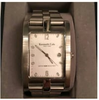Kenneth Cole New York Beveled Watch Silver Spring, 20904