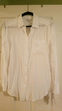 white button-up dress shirt Bristow, 20136