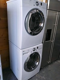 LG 27in front load washer and dryer set