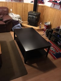 Black/Brown Coffee Table Ottawa