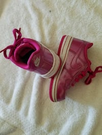 Toddler girl Nike air force 1s size #7c (no insole Chicago, 60652