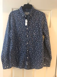 Express floral men's dress shirt. New. Original $60