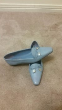 pair of gray leather loafers Mississauga, L4Z 3E9