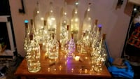 Different kinds of bottles with lights Virginia Beach, 23452