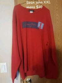 red and black long-sleeved shirt Jacksonville, 28540