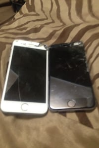 Two iPhone 6 16gb broken sensor and screens St Catharines, L2N 4L8