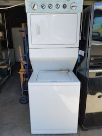 white stackable washer and dryer Los Angeles, 91406