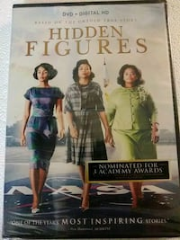 Hidden Figures dvd (Brand New) Baltimore