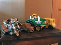 Kids Trucks Tractor Motorcycle toys Albuquerque