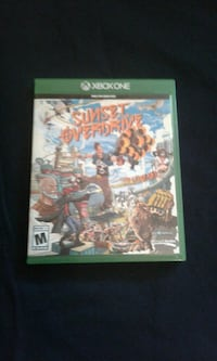 SUNSET OVERDRIVE ONLY XBOX ONE
