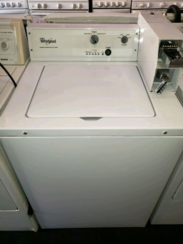 Whirlpool commercial washer coin operated