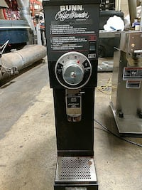 Used bunn grinder also newco grinder available