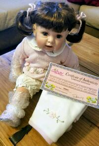 Collectable Porcelain Doll Wauconda, 60084