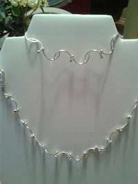925silver 16 inch necklace and bracelet 7-inch Greer, 29650