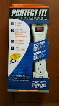 New TrippLite Surge Protector Woodstock