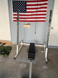Squat rack and bench Leesburg, 20176