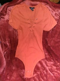 Orange short sleeve leotard shirt Carson City, 89701