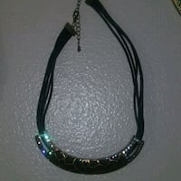 black and silver beaded necklace New Port Richey, 34653