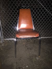brown and black leather padded chair Salinas, 93905