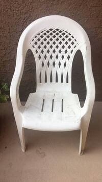 white wooden rocking chair with white floral pad Corona, 92882