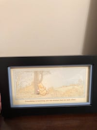 brown wooden framed painting of white house Chattanooga, 37421