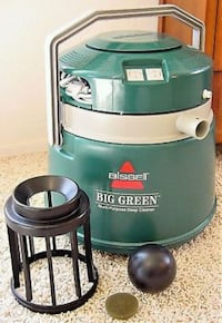 green and white Bissell Big Green vacuum cleaner Las Vegas, 89122