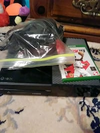 black Xbox One console with controller and game ca Gastonia, 28054
