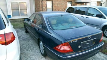 Blue Mercedes Benz S500 for sale auto parts for sa