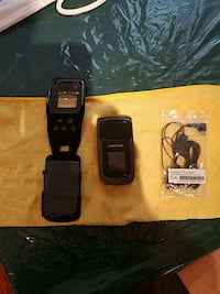 black Samsung android smartphone with charger Coquitlam, V3B