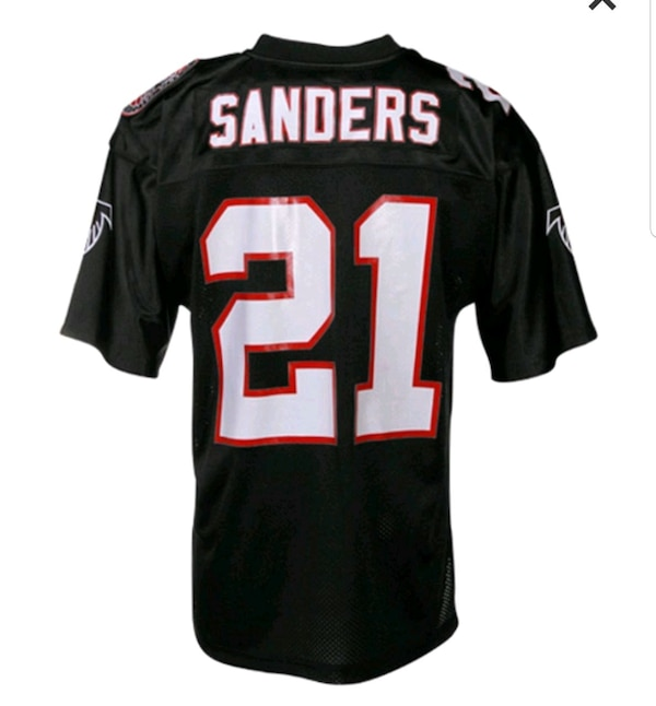 new products 380e3 feaea Mitchell and ness deion Sanders throwback Jersey