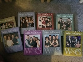 Will and Grace ENTIRE series (Season's 1-8)