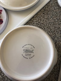 White and green corningware bowl Toronto, M3C 3E7