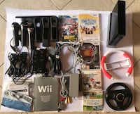 Wii Mario Kart Wii Pack Black+ guitar hero Torino, 10139