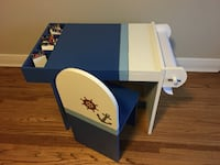 Super original customized drawing table and chair for children LONDON