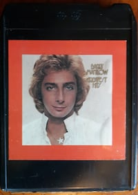 Barry Manilow 8 Track Tape Inwood