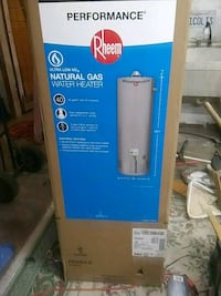 New 40 gallon gas hot water heater new in unopened Patterson, 95363