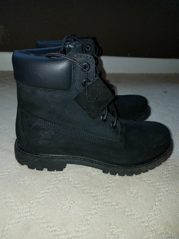 fe407f2a8b37 Used Ladies black TIMBERLANDS for sale in Caledonia - letgo