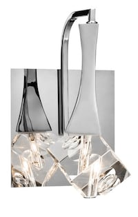Elan Rockne 1-Light 6-in Chrome Teardrop Vanity Light: New in Box; Multiple Quantities Available! Phoenixville, 19460