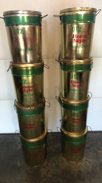 OLD VINTAGE TIN CANS WITH LIDS $3.00 EACH Littlestown, 17340