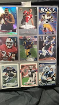 NFL football card collection Ten Mile, 37880