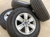 2018 Ford F150 rims and tires Las Vegas, 89179