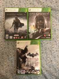 Xbox 360 Games Mississauga, L5N 2C4