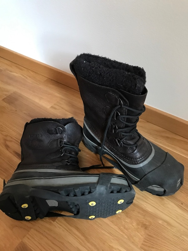 Used SOREL MEN S CARIBOU WOOL BOOTS for sale in Upplands Väsby - letgo a26359af7b69